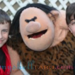 The two boys performed with a muppet, and it was hilarious!