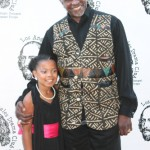 Keith David and Mma-Syrai on the red carpet