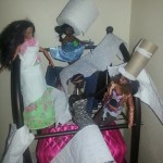 toilet paper barbies